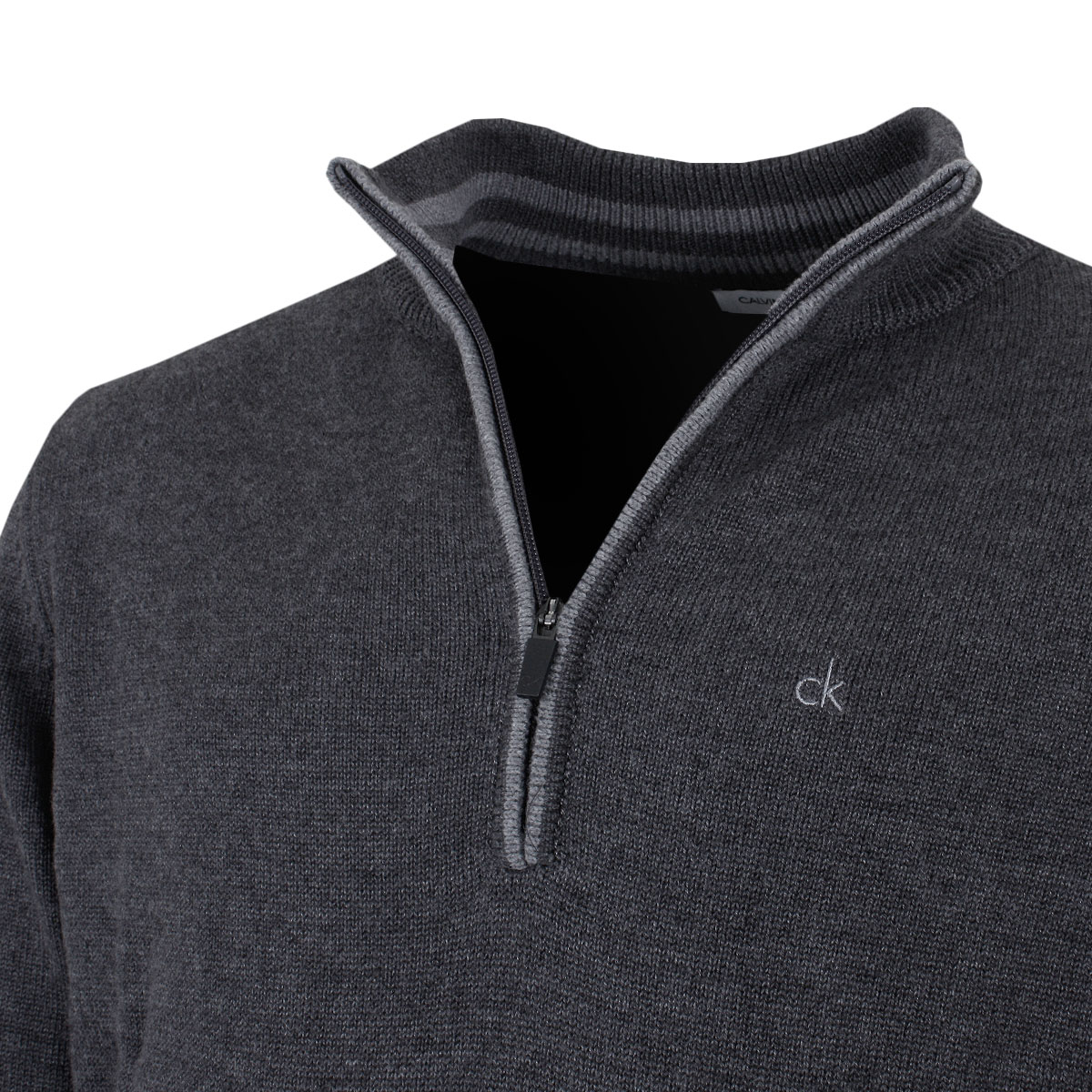 Calvin-Klein-Golf-Mens-2019-Chunky-Cotton-1-2-Zip-Golf-Top-Sweater-37-OFF-RRP thumbnail 22