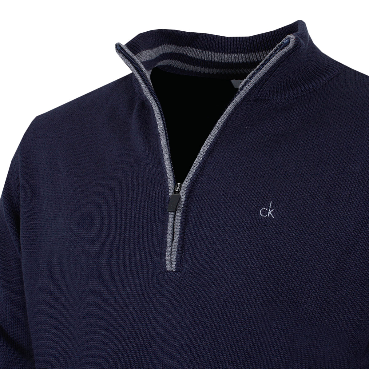Calvin-Klein-Golf-Mens-2019-Chunky-Cotton-1-2-Zip-Golf-Top-Sweater-28-OFF-RRP thumbnail 48