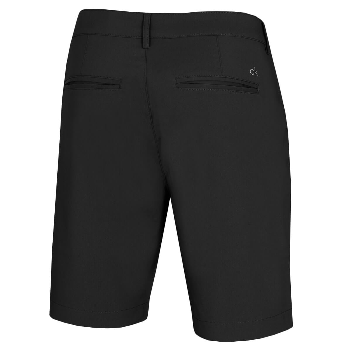 thumbnail 3 - Calvin Klein Mens 2021 Slim Fit Micro Tech Lightweight Golf Shorts 34% OFF RRP