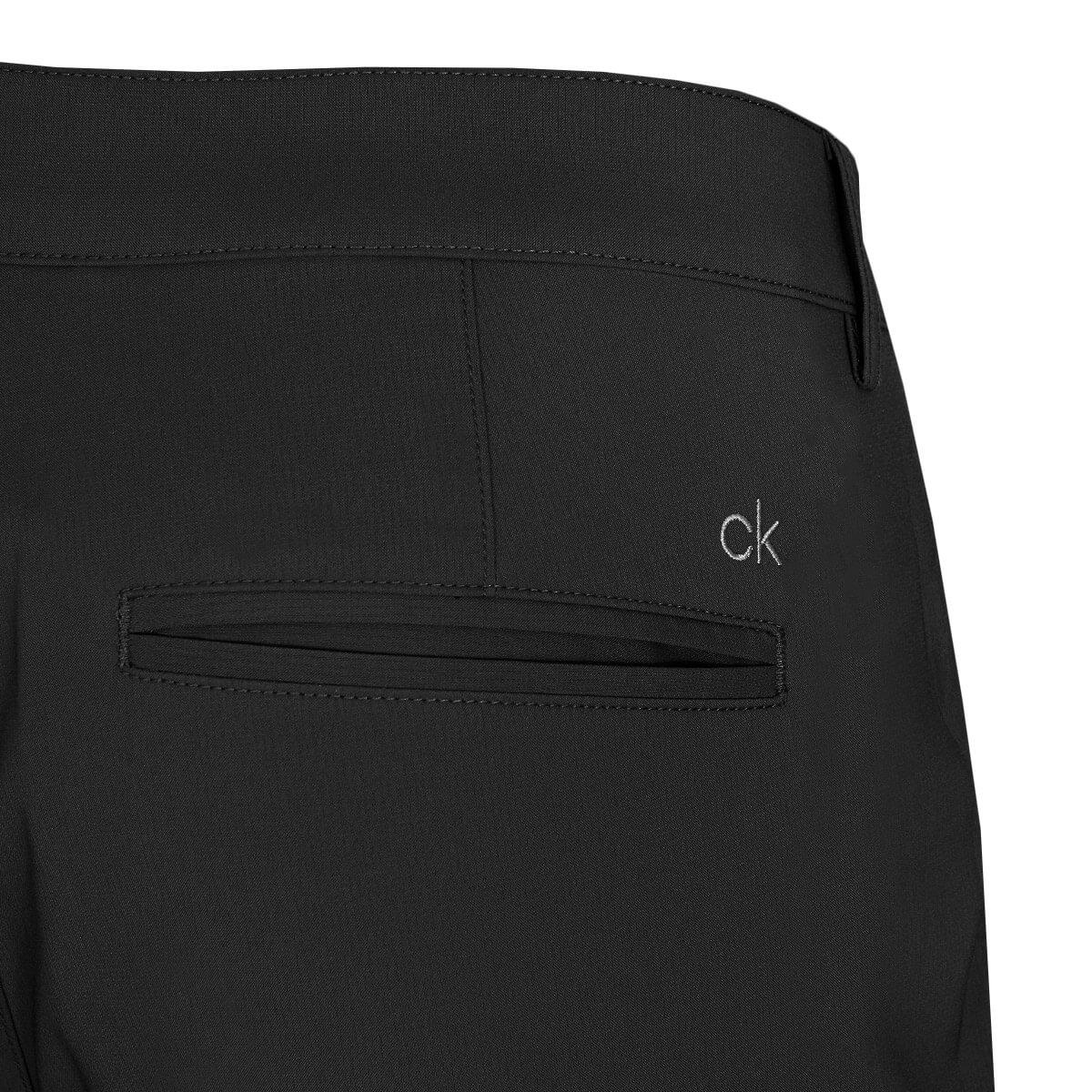thumbnail 4 - Calvin Klein Mens 2021 Slim Fit Micro Tech Lightweight Golf Shorts 34% OFF RRP