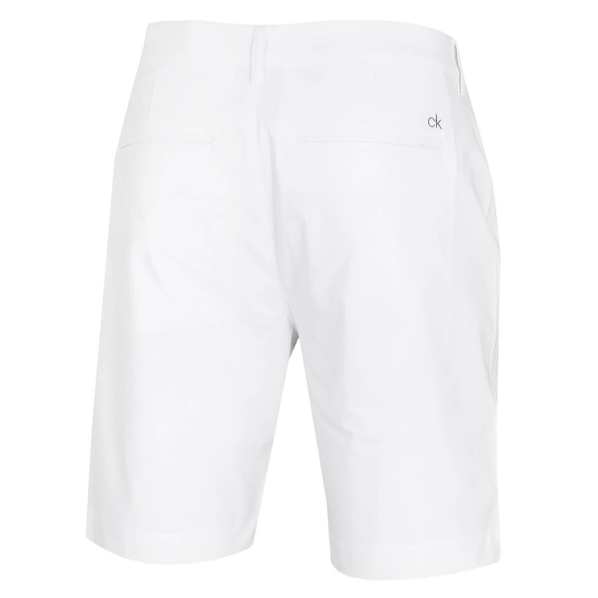 thumbnail 27 - Calvin Klein Mens 2021 Slim Fit Micro Tech Lightweight Golf Shorts 34% OFF RRP