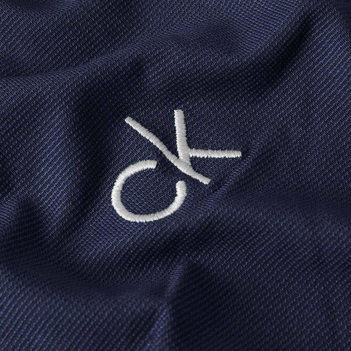 thumbnail 10 - Calvin Klein Mens 2021 Central Eco Light Wicking Golf Polo Shirt 28% OFF RRP