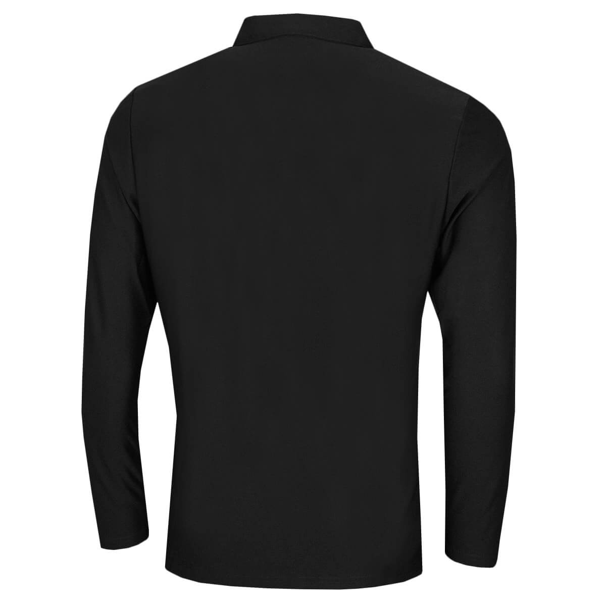 Calvin-Klein-Homme-2020-a-manches-longues-Light-Central-Golf-Polo-Shirt-45-off-RRP miniature 3