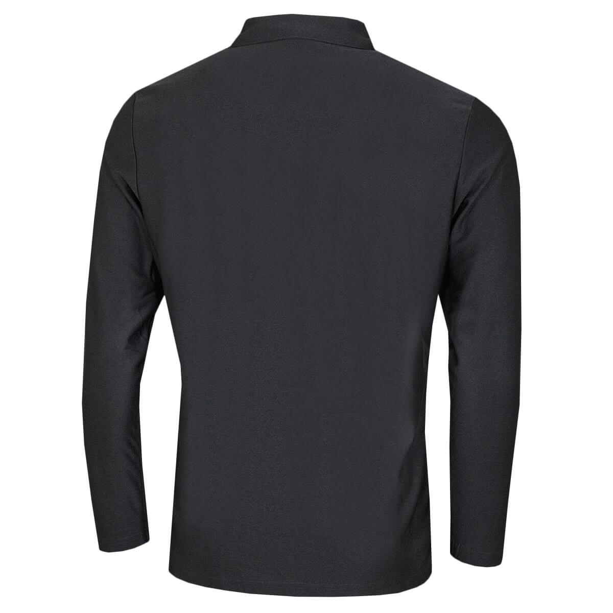 Calvin-Klein-Homme-2020-a-manches-longues-Light-Central-Golf-Polo-Shirt-45-off-RRP miniature 6