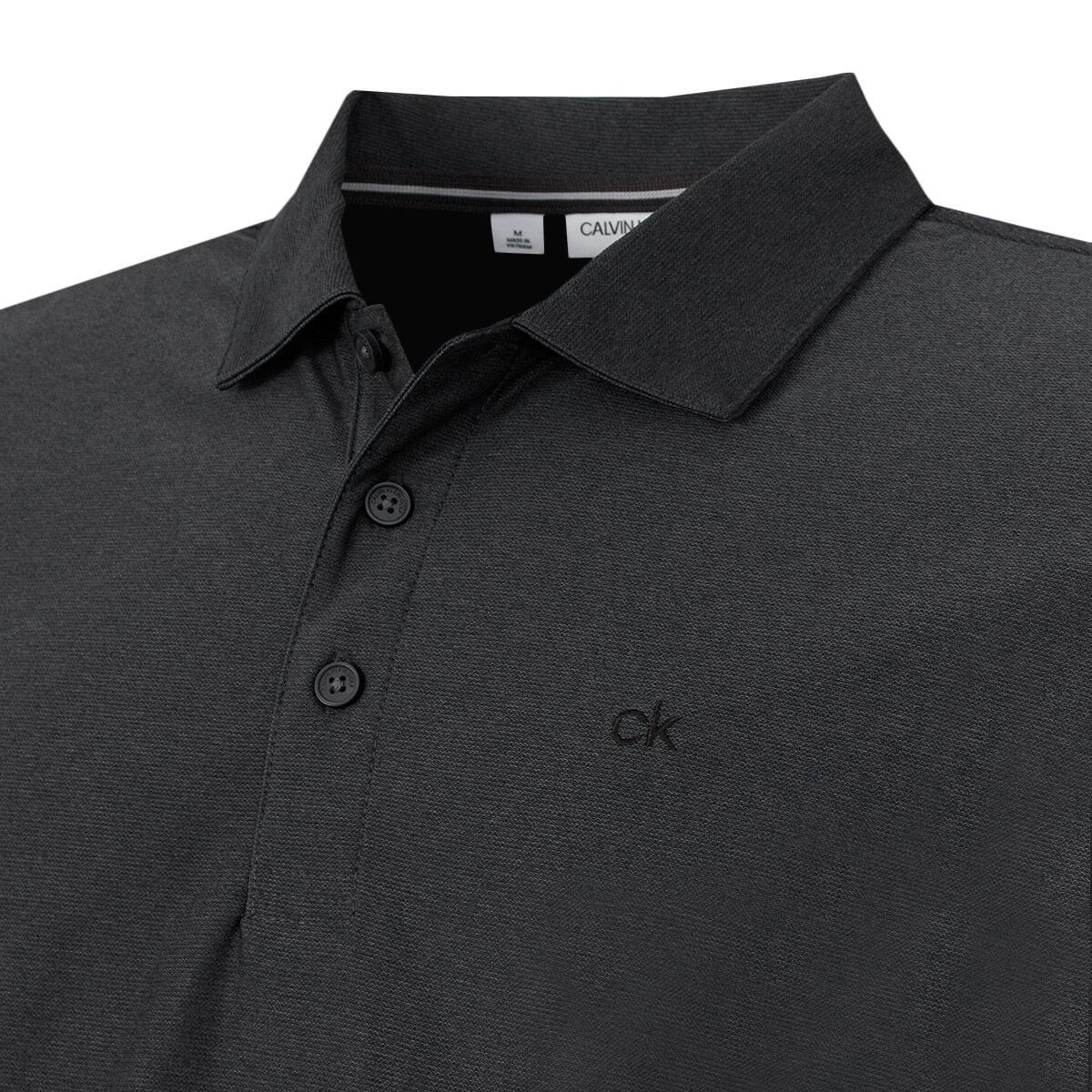 Calvin-Klein-Homme-2020-a-manches-longues-Light-Central-Golf-Polo-Shirt-45-off-RRP miniature 7