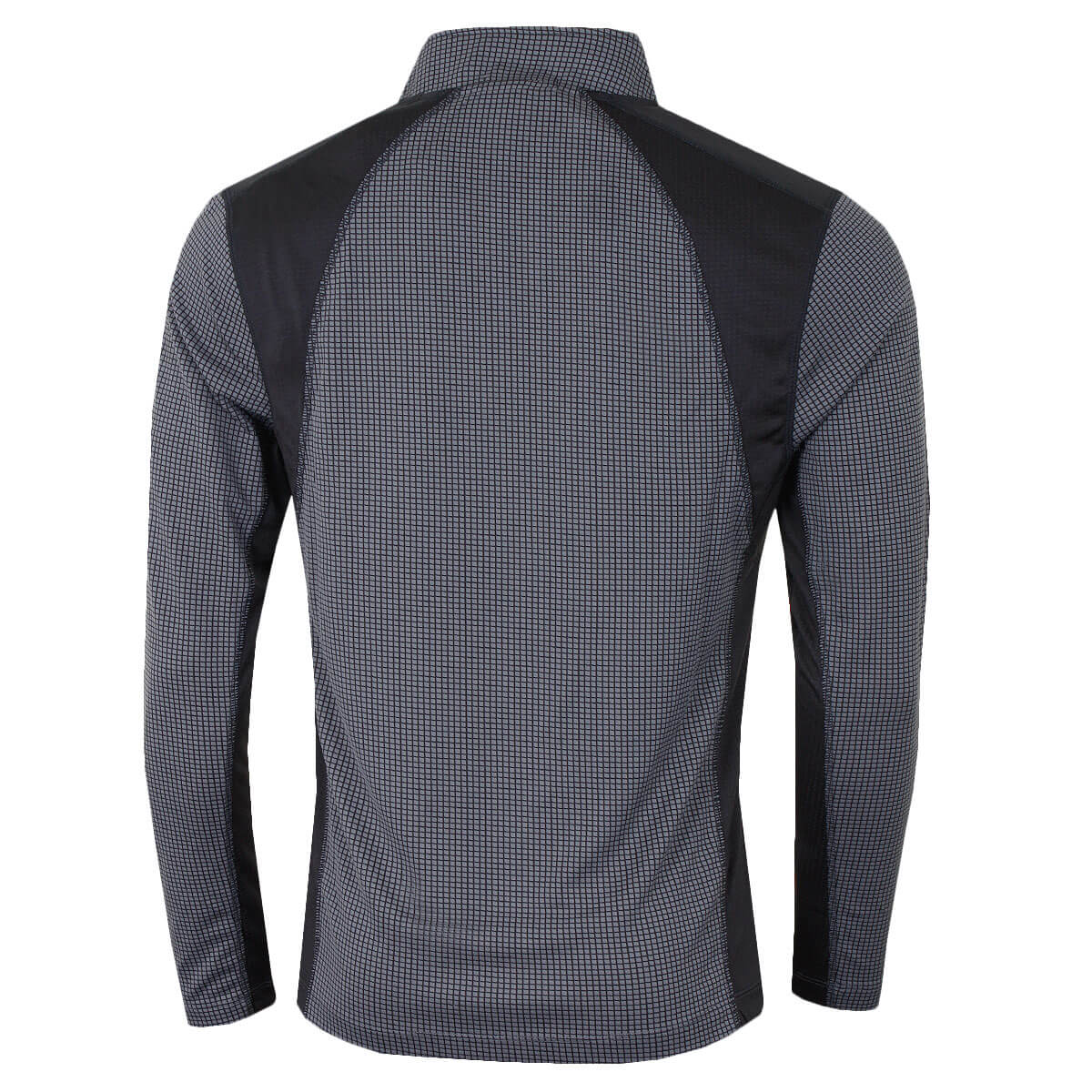 thumbnail 3 - Calvin Klein Mens 2021 Micro Grid CK 1/2 Zip Mid Layer Pullover 50% OFF RRP