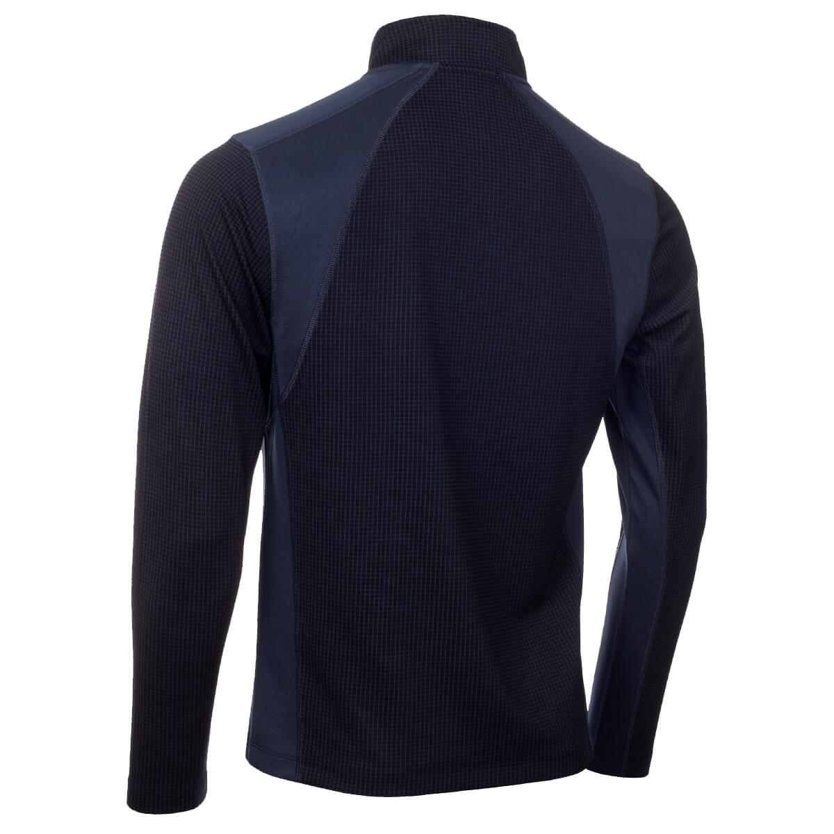 thumbnail 6 - Calvin Klein Mens 2021 Micro Grid CK 1/2 Zip Mid Layer Pullover 50% OFF RRP