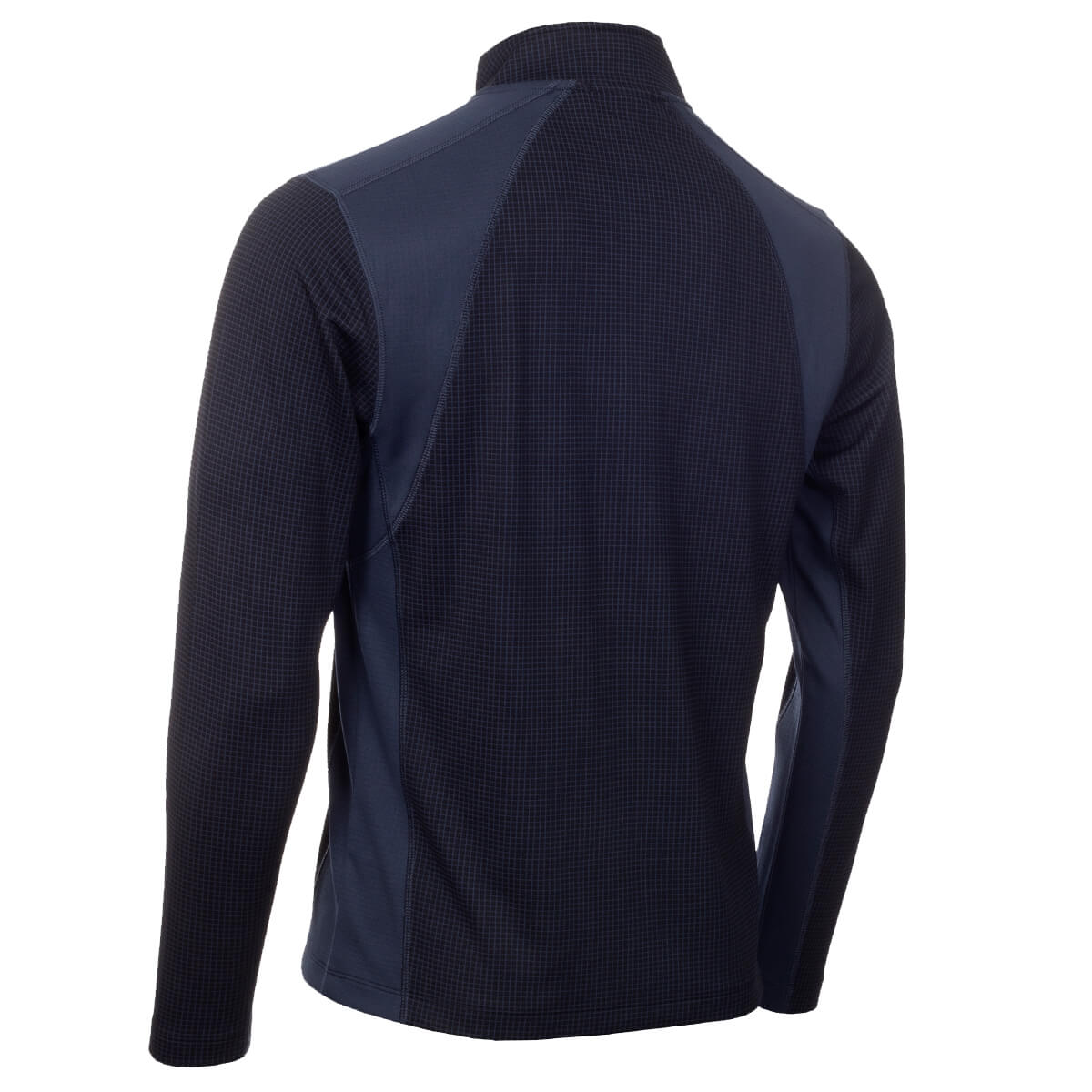 thumbnail 13 - Calvin Klein Mens 2021 Micro Grid CK 1/2 Zip Mid Layer Pullover 50% OFF RRP