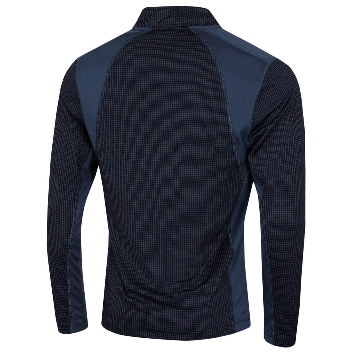 thumbnail 17 - Calvin Klein Mens 2021 Micro Grid CK 1/2 Zip Mid Layer Pullover 50% OFF RRP