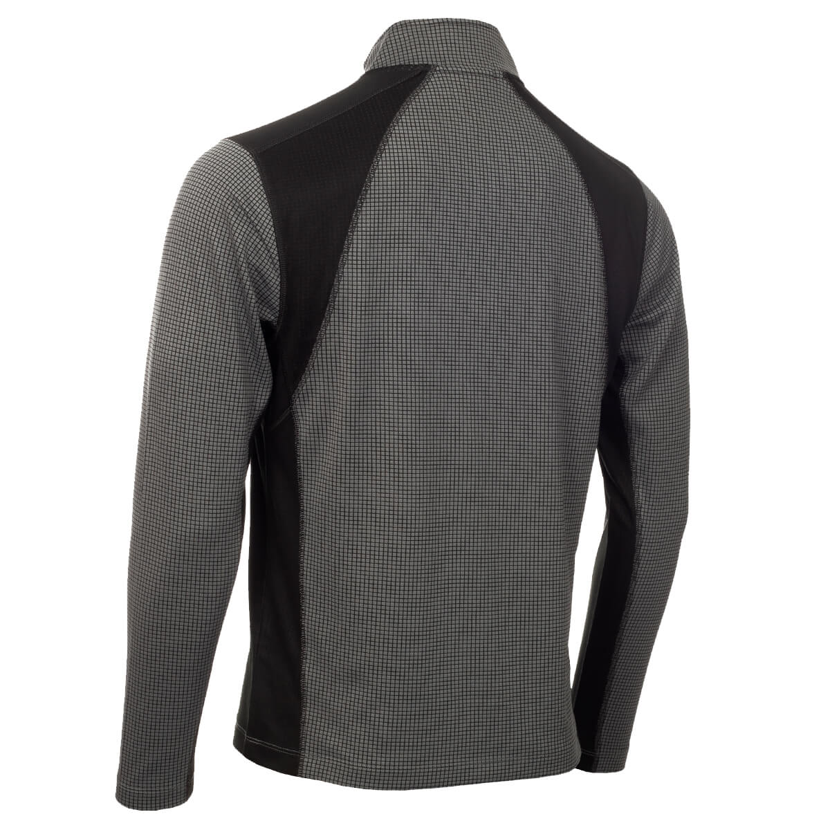thumbnail 23 - Calvin Klein Mens 2021 Micro Grid CK 1/2 Zip Mid Layer Pullover 50% OFF RRP