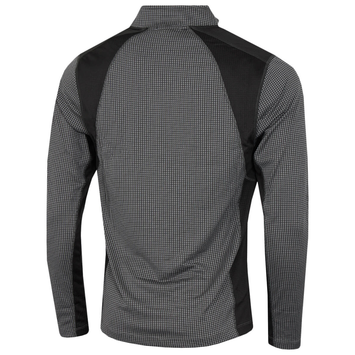 thumbnail 30 - Calvin Klein Mens 2021 Micro Grid CK 1/2 Zip Mid Layer Pullover 50% OFF RRP