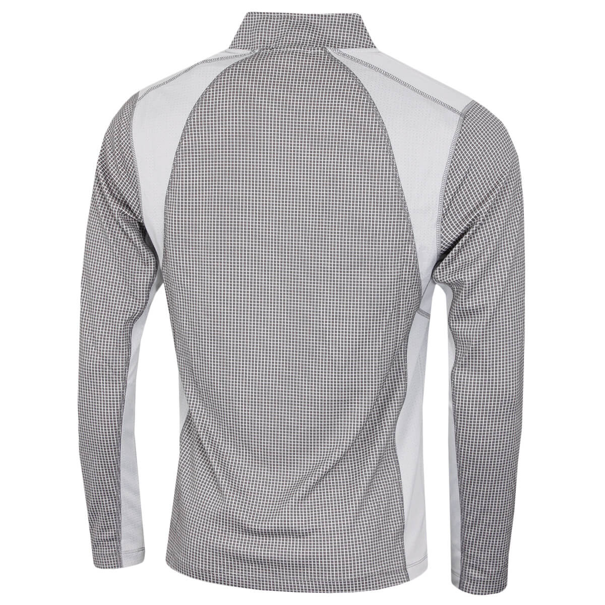 thumbnail 33 - Calvin Klein Mens 2021 Micro Grid CK 1/2 Zip Mid Layer Pullover 50% OFF RRP