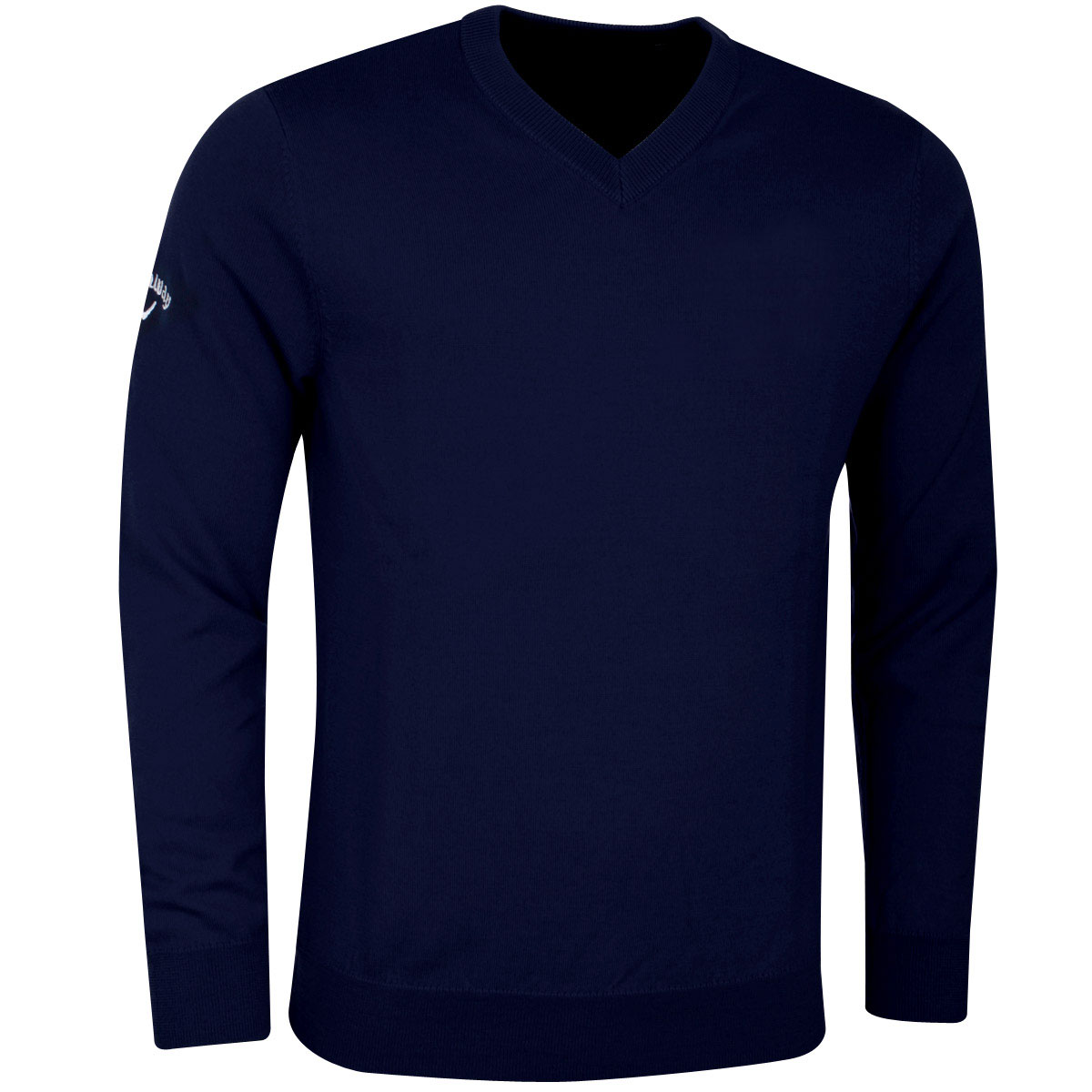Callaway-Golf-Mens-Ribbed-V-Neck-Merino-Opti-Therm-Sweater-Jumper-64-OFF-RRP thumbnail 9
