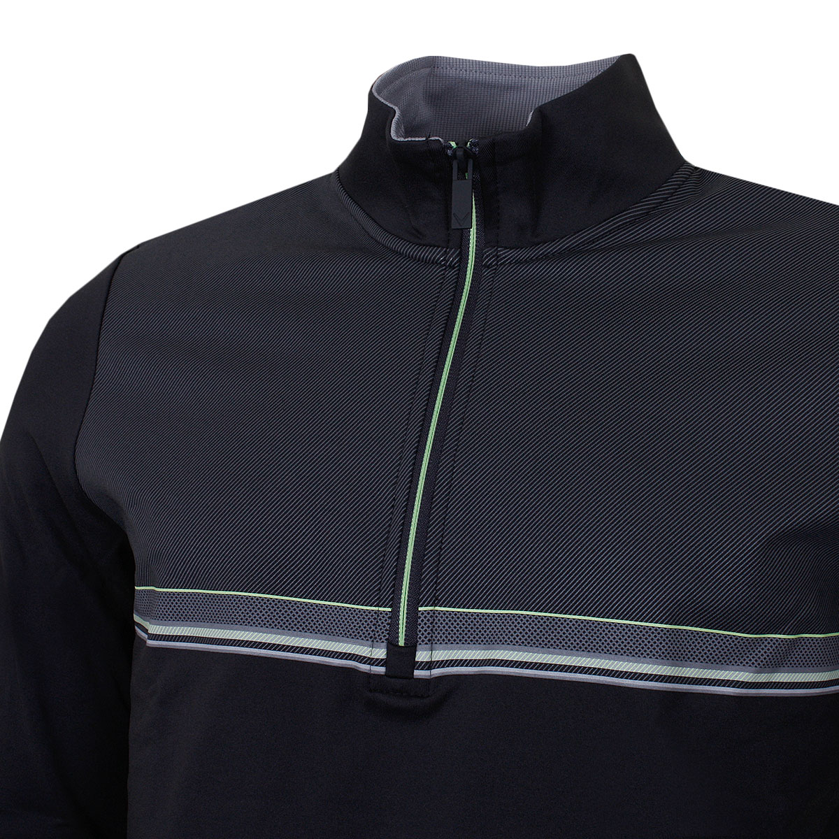 Callaway-Golf-Mens-Print-Chill-Out-Fleece-Lined-1-4-Zip-Sweater-46-OFF-RRP thumbnail 4