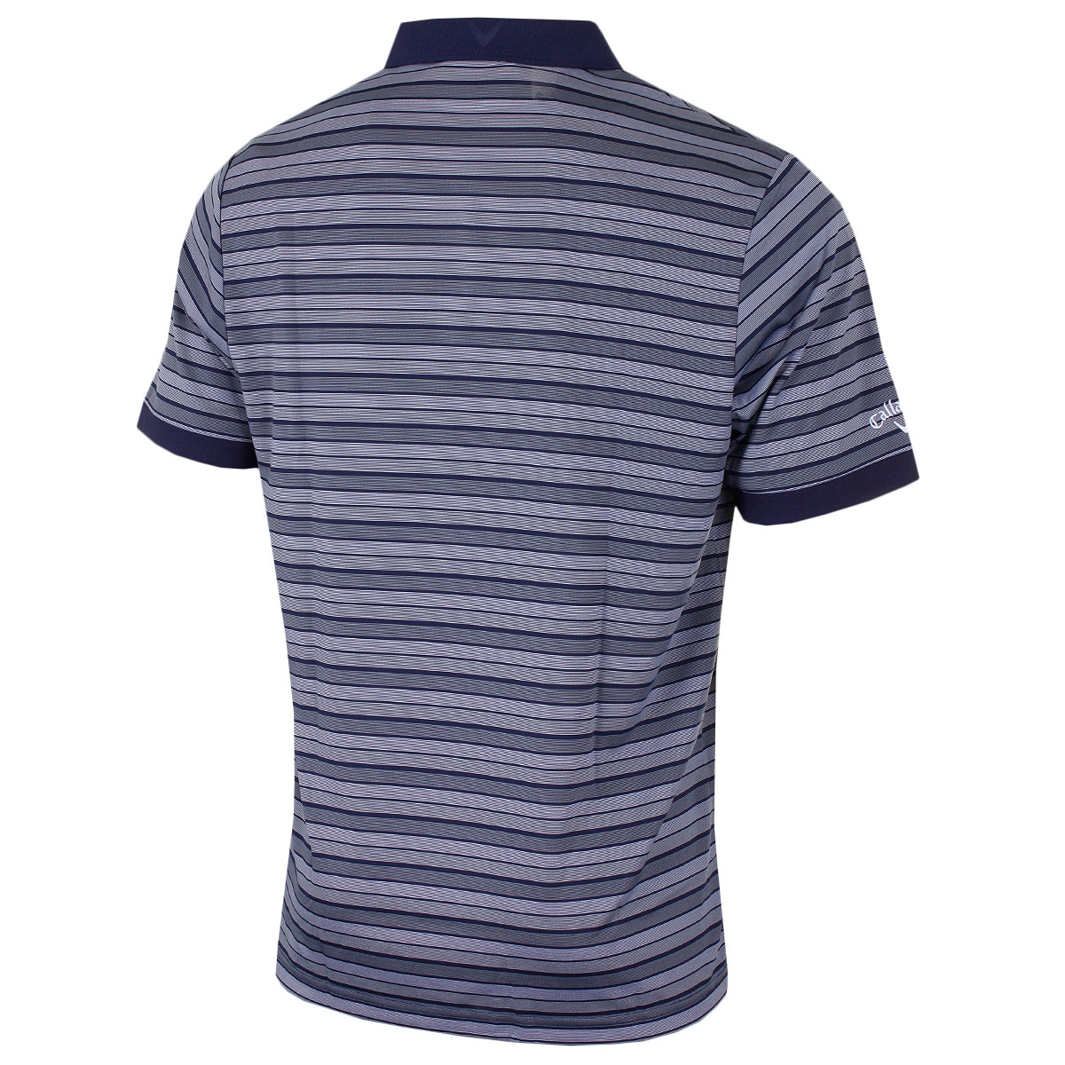 Callaway-Golf-Mens-Fine-Line-Opti-Dri-Striped-Polo-Shirt-CGKS7045-49-OFF-RRP thumbnail 7