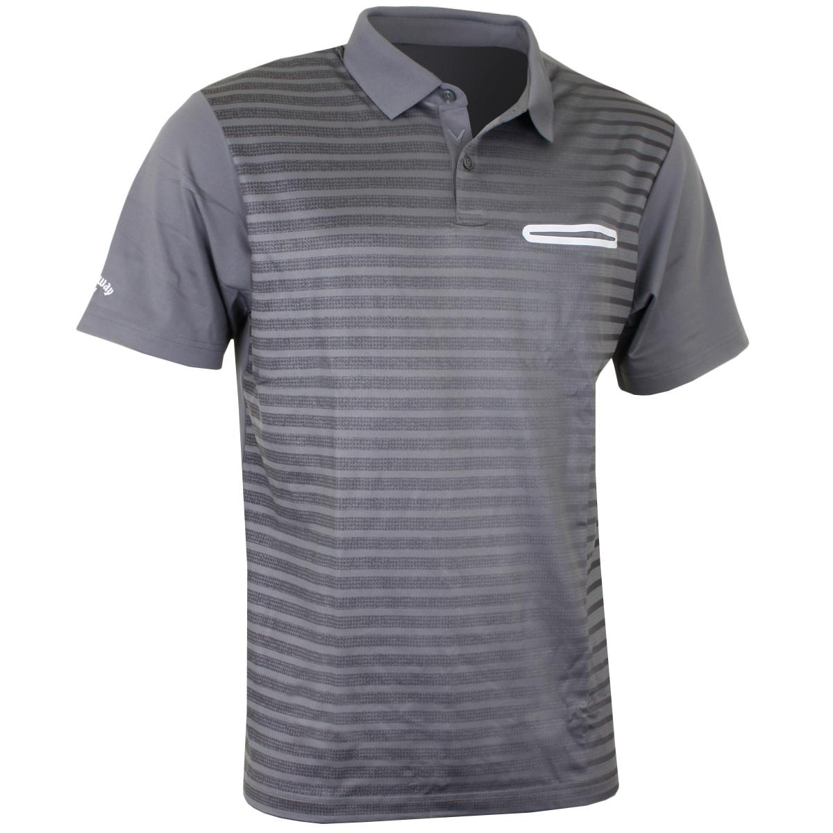 Callaway Golf 2017 Mens Ombre Pocket Opti Dri Stretch Tech