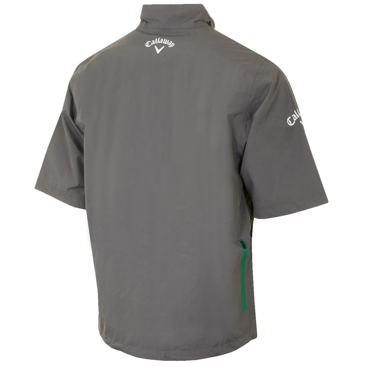 Callaway Golf Mens Half Sleeve Waterproof 1/4 Zip Playing Top Rain ...