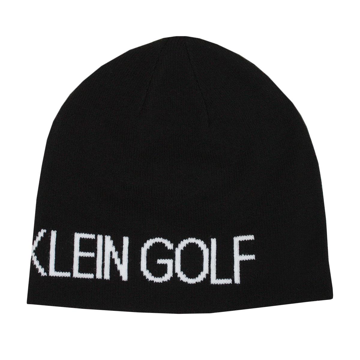 d6db41e2c52 Calvin Klein Golf Mens Logo Reversible Knit CK Logo Beanie Hat
