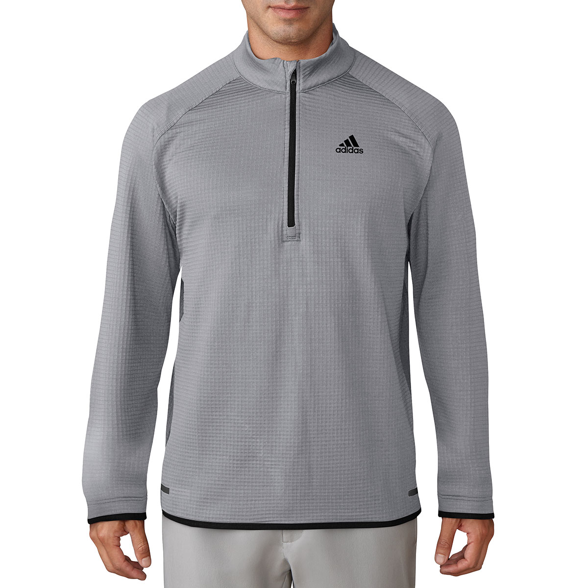 Adidas-Golf-Mens-2017-Climaheat-Gridded-1-4-Zip-Super-Warm-Pullover-Sweater