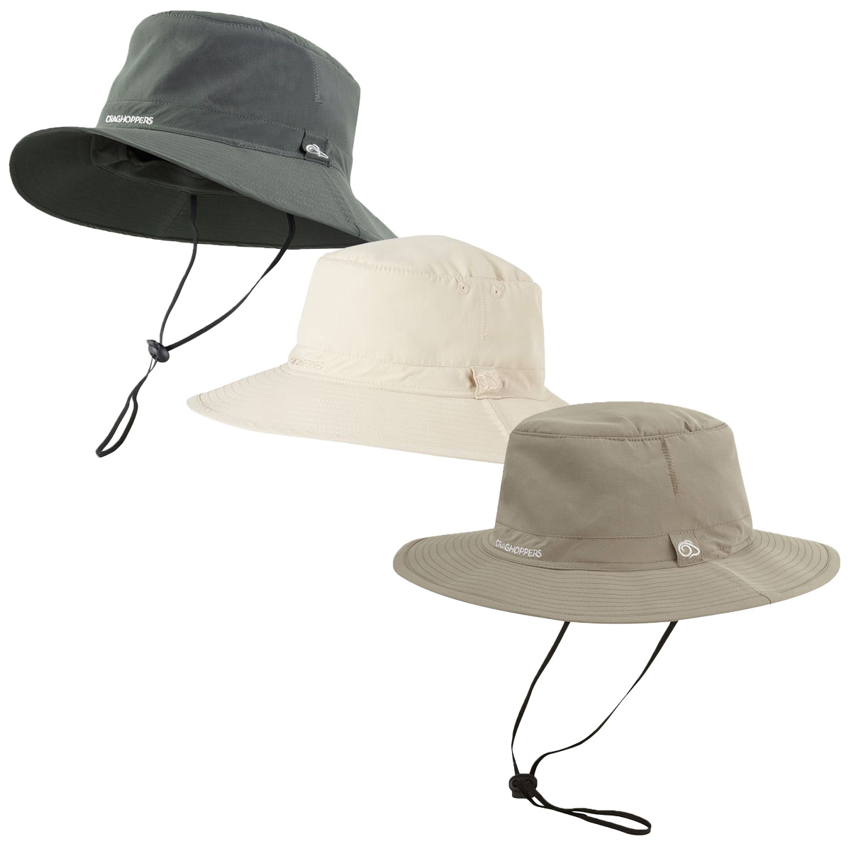 05278a3adb8 Details about Craghoppers Unisex NosiLife Solar Shield Adjustable UPF 50+ Outback  Hat