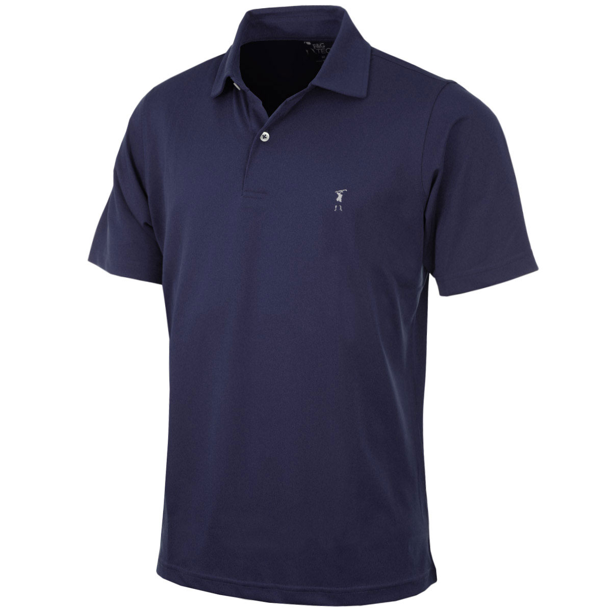 87c66486d3b Fairway   Greene Mens Solid Tech Pique Golf Polo Shirt 38 off L ...