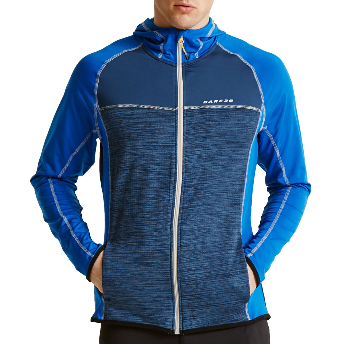Dare 2b Mens Ratify II Core Stretch Hooded Zip Jacket Top 62/% OFF RRP