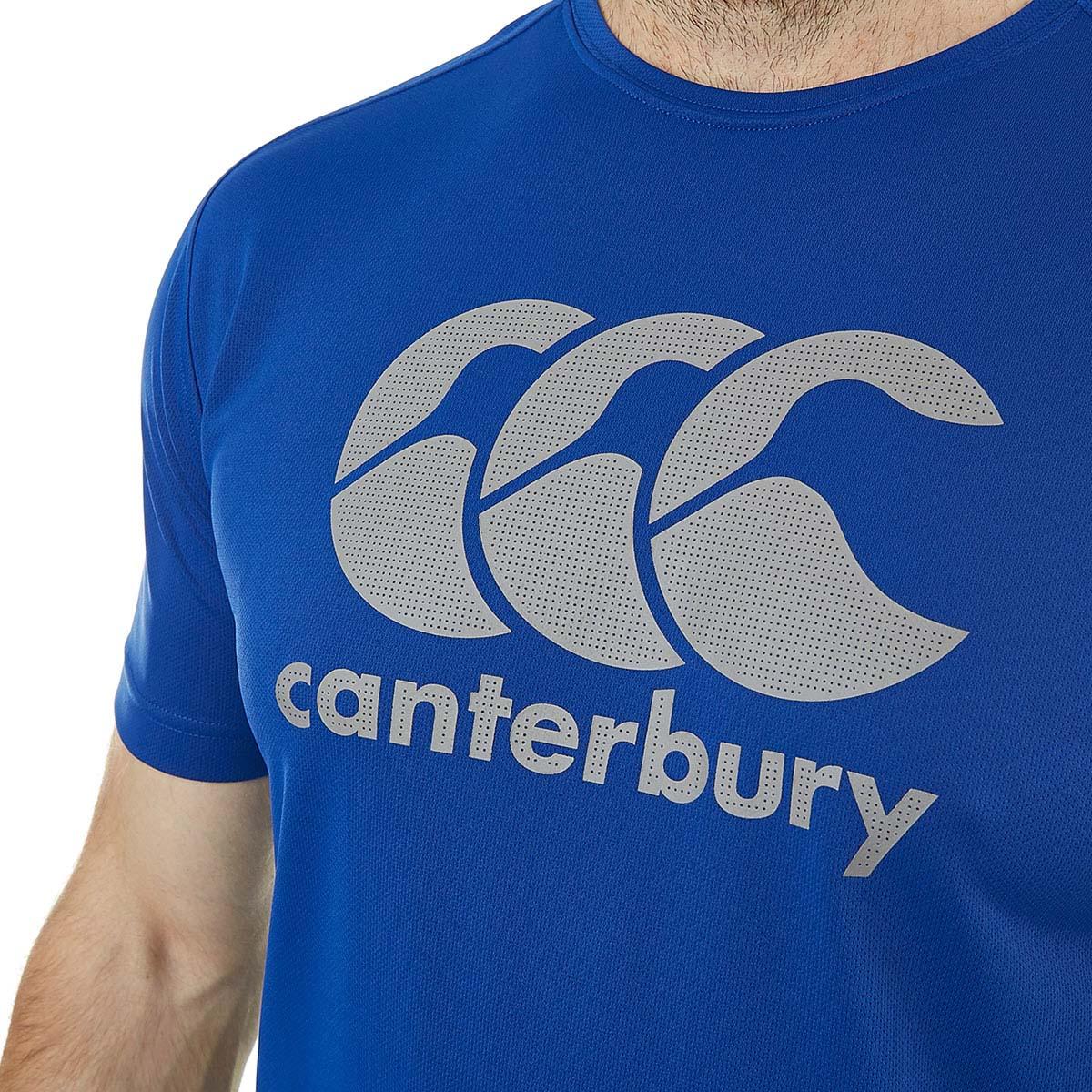 Canterbury-Para-hombre-Core-vapodri-Grande-logotipo-Quickdry-transpirable-T-Shirt miniatura 18