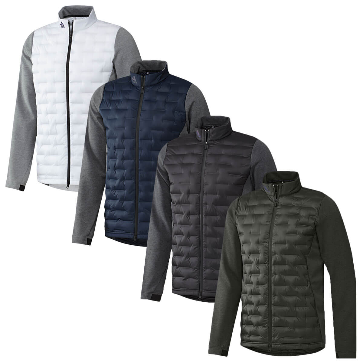 exclusive deals entire collection lace up in Details about adidas Golf Mens 2019 Frostguard Water Resistant Full Zip  Insulating Jacket