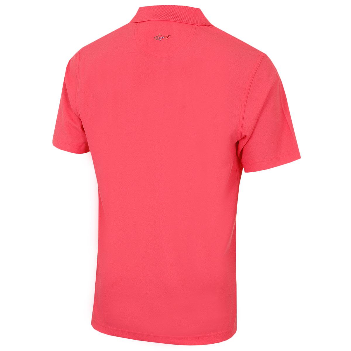 Greg-Norman-Mens-KX04-Performance-Micro-Pique-Golf-039-Large-Logo-039-Polo-Shirt thumbnail 7