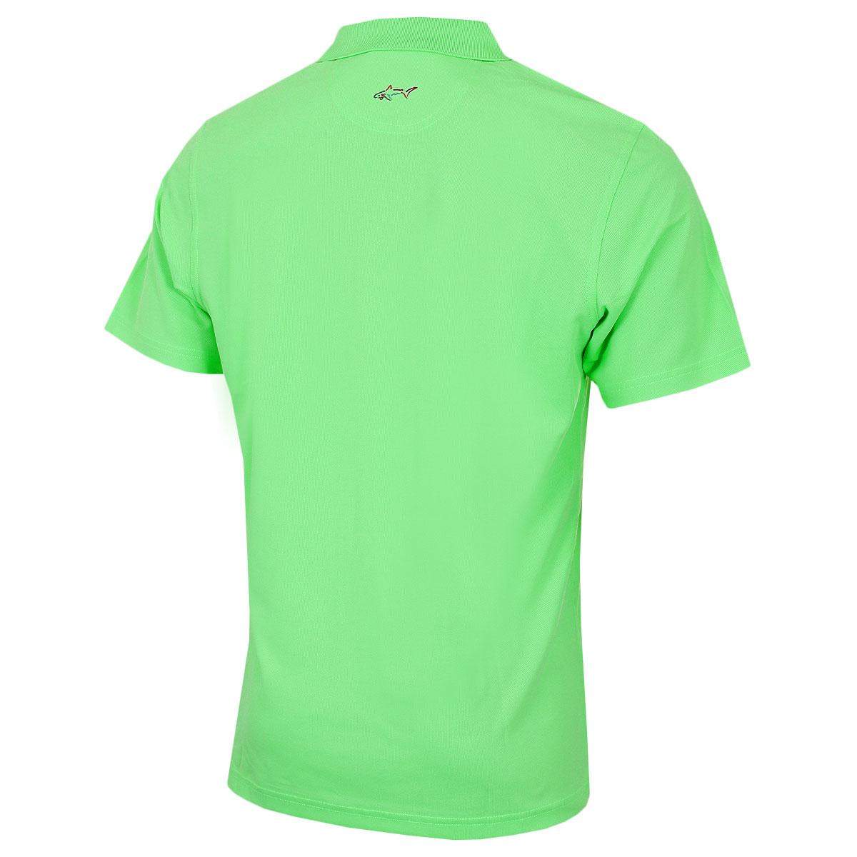 Greg-Norman-Mens-KX04-Performance-Micro-Pique-Golf-039-Large-Logo-039-Polo-Shirt thumbnail 19