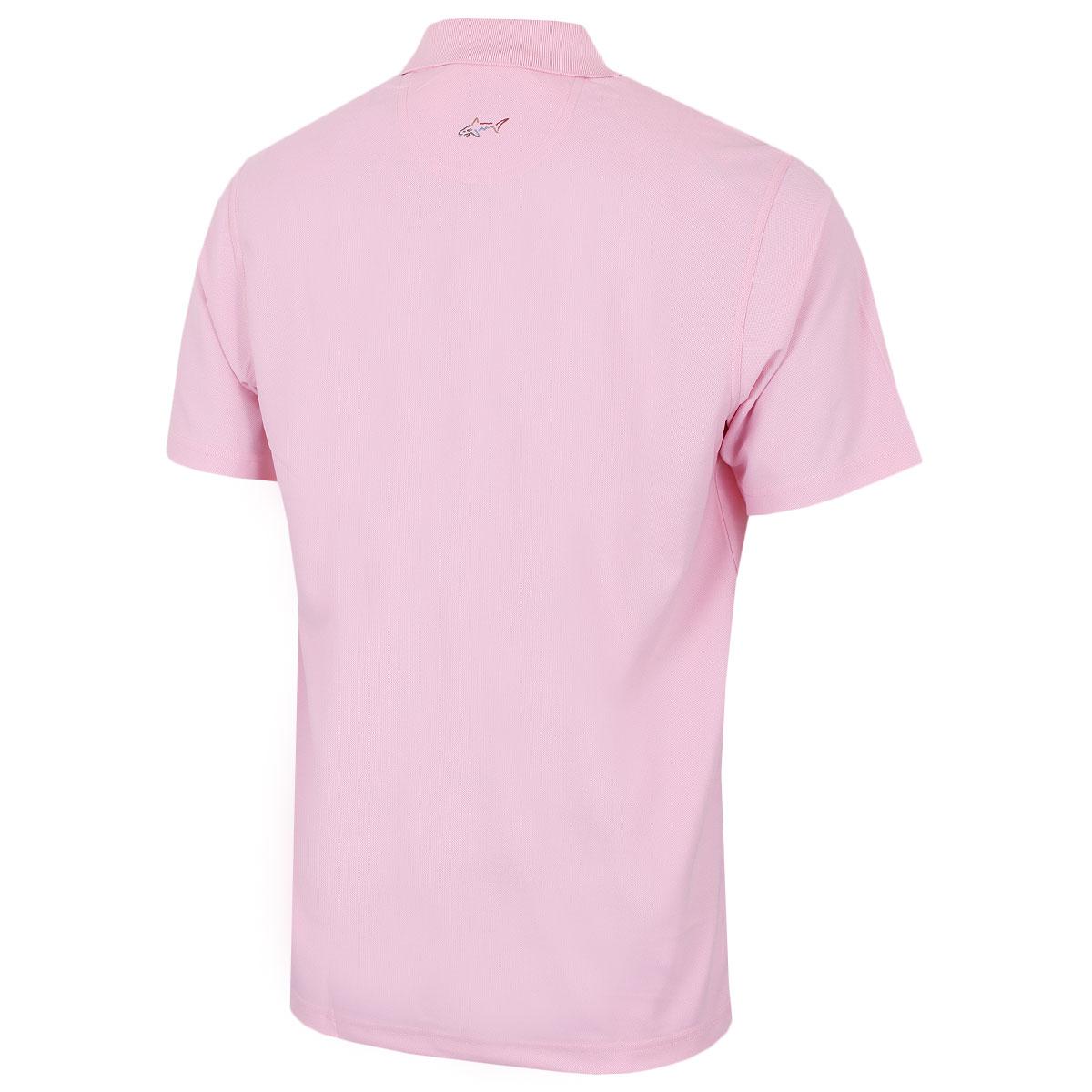 Greg-Norman-Mens-KX04-Performance-Micro-Pique-Golf-039-Large-Logo-039-Polo-Shirt thumbnail 30