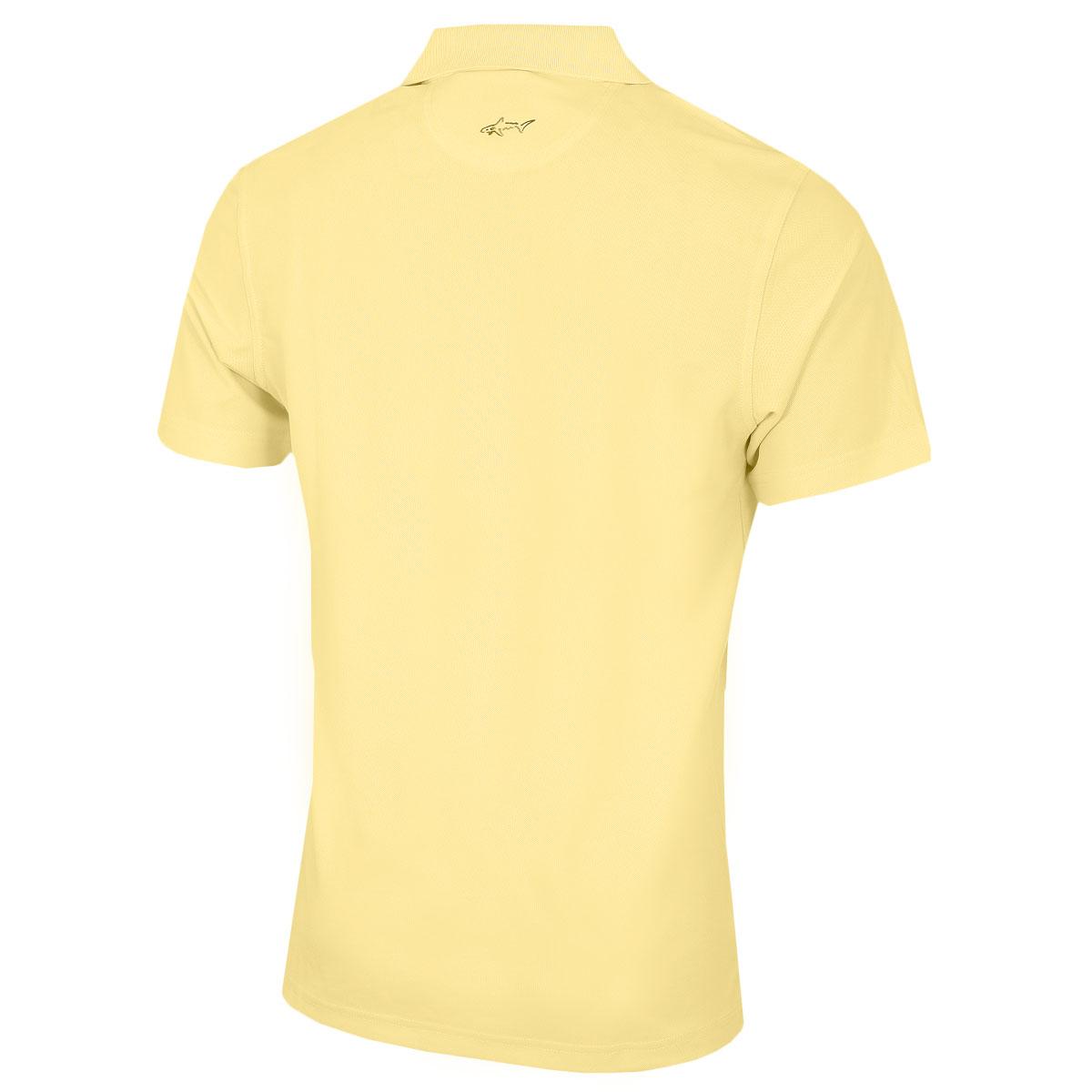 Greg-Norman-Mens-KX04-Performance-Micro-Pique-Golf-039-Large-Logo-039-Polo-Shirt thumbnail 34