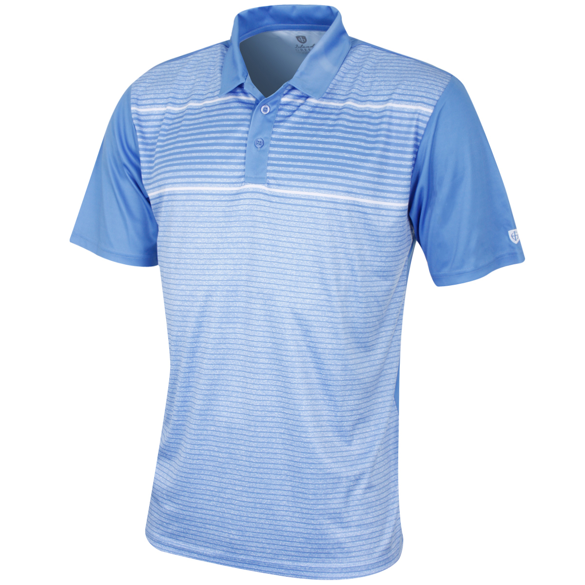 Island Green Mens Quick Drying Moisture Wicking Durable Golf Polo