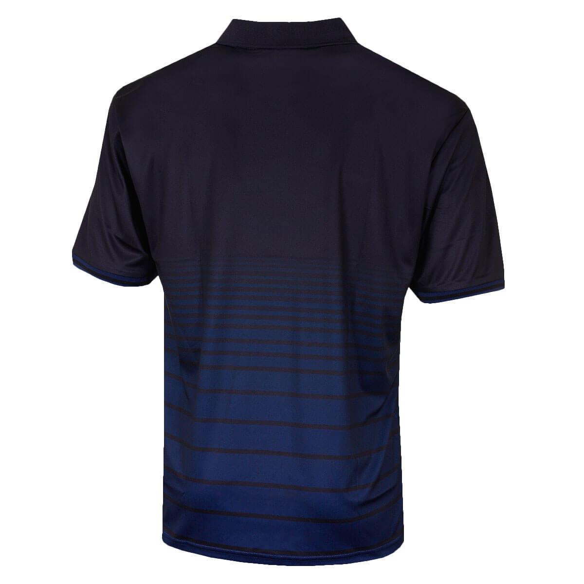 Island-Green-Mens-2019-Golf-1890-Sublimated-Stripe-Logo-Polo-Shirt-43-OFF-RRP thumbnail 5