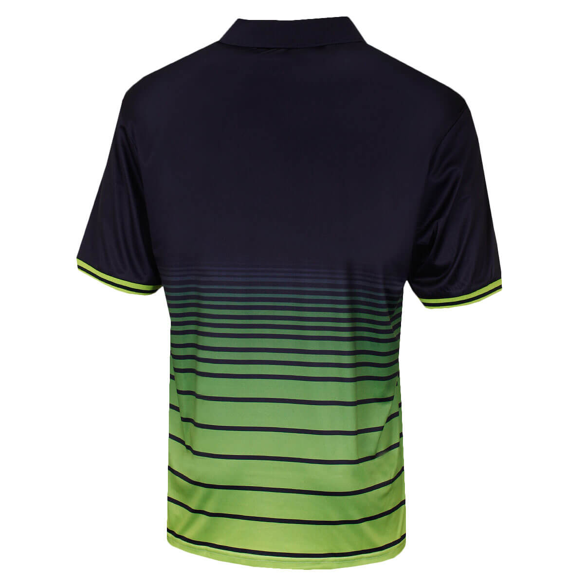 Island-Green-Mens-2019-Golf-1890-Sublimated-Stripe-Logo-Polo-Shirt-43-OFF-RRP thumbnail 7