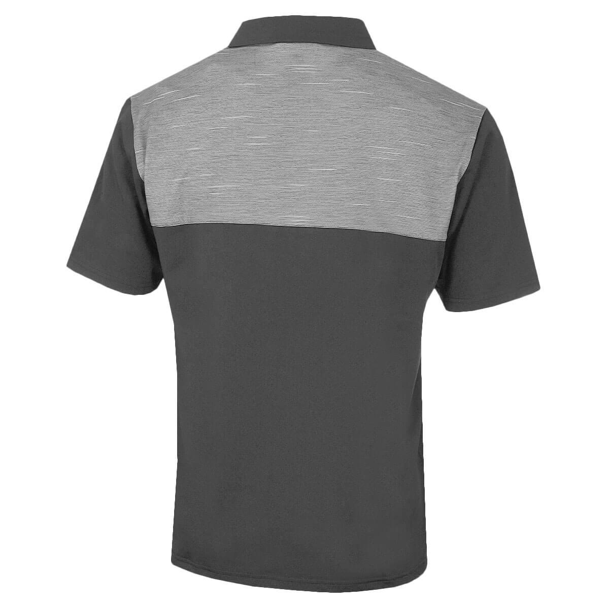 Island-Green-Mens-Golf-IGTS1891-Contrast-Yoke-Polo-Shirt-53-OFF-RRP thumbnail 5