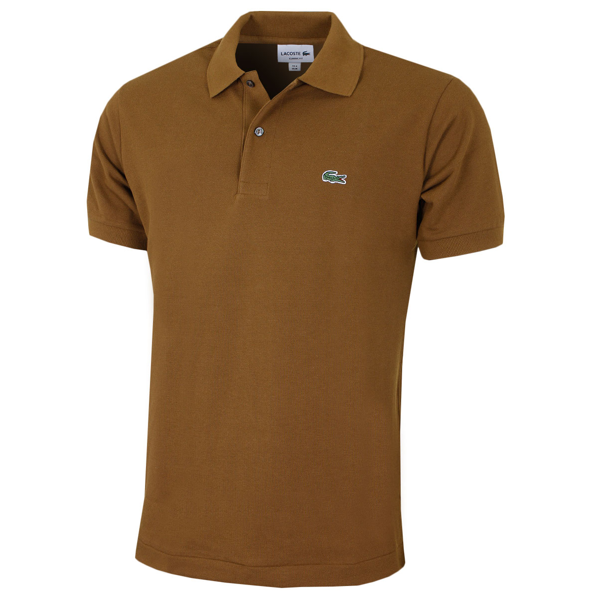 Lacoste mens classic cotton l1212 short sleeve polo shirt for Short sleeve lacoste shirt
