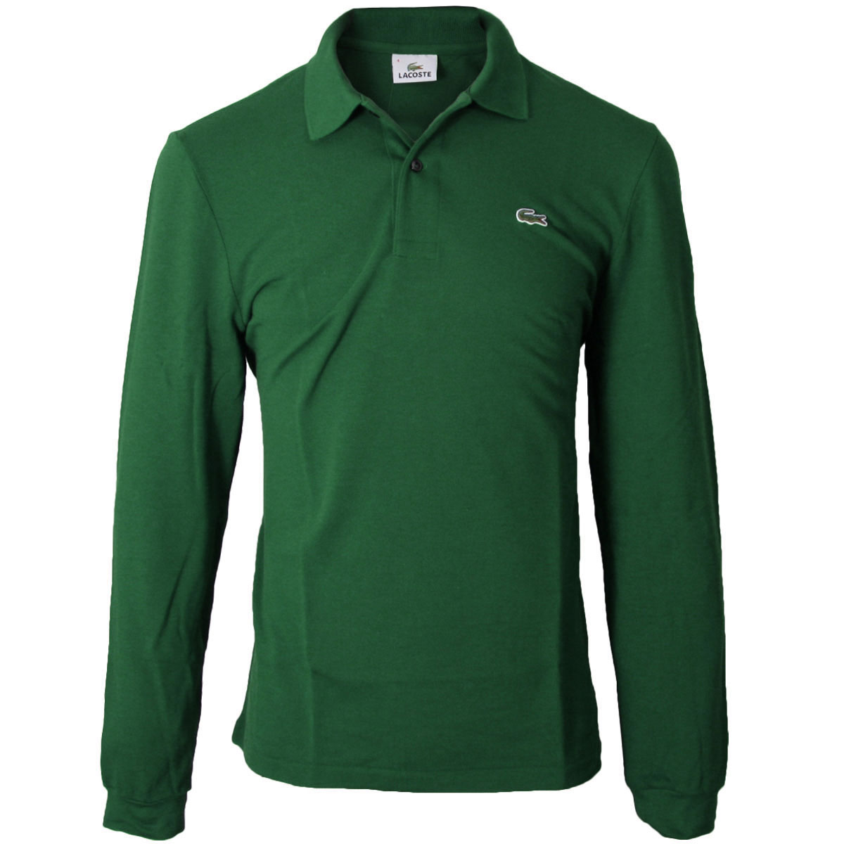 lacoste mens 2018 classic cotton long sleeve l1312 polo shirt ebay. Black Bedroom Furniture Sets. Home Design Ideas