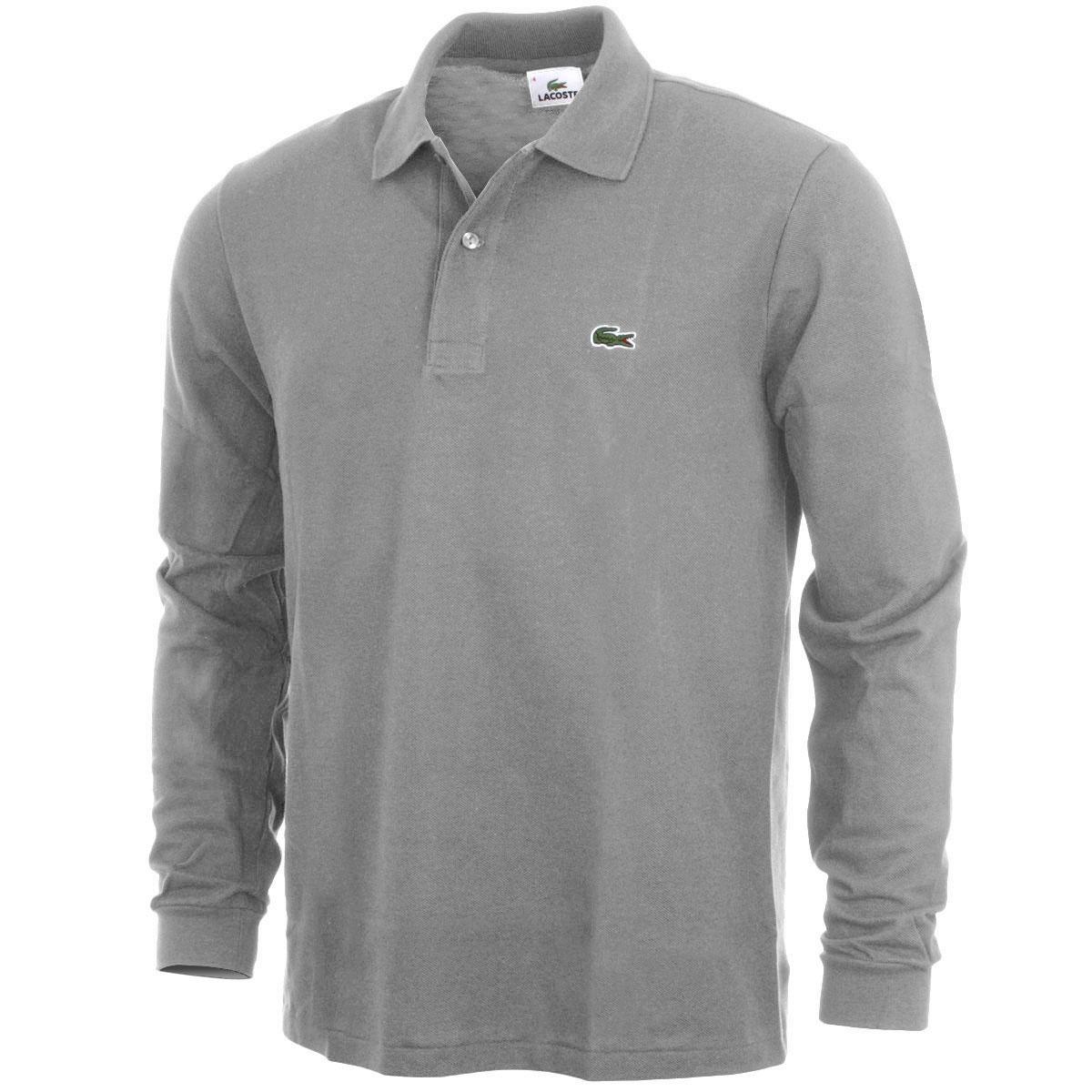 Black Lacoste Long Sleeve Shirt