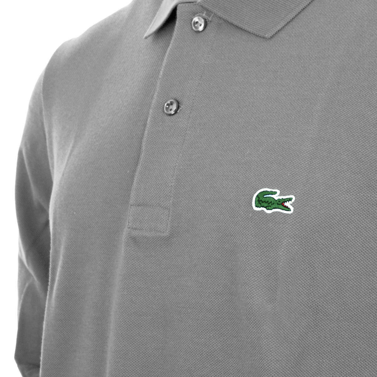 aed920ef Lacoste 2017 Mens Classic Cotton Long Sleeve L1312 Polo Shirt | eBay