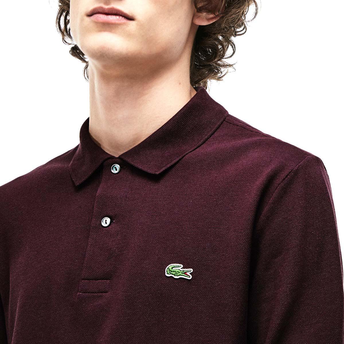 5711a745ff Lacoste Mens 2019 Classic Cotton Long Sleeve L1312 Polo Shirt | eBay