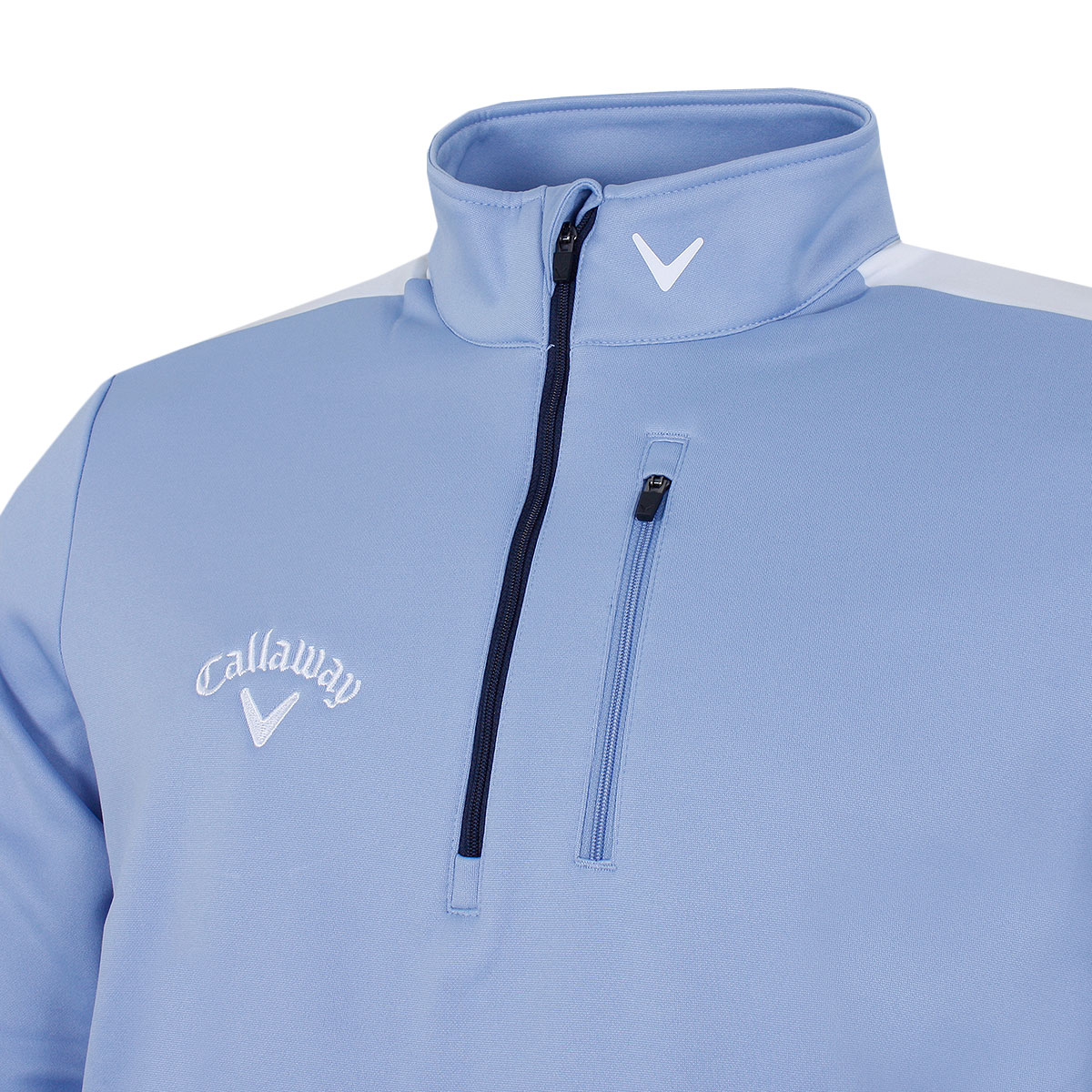Callaway-Mens-Opti-Therm-Colour-Block-1-4-Zip-Golf-Sweater-50-OFF-RRP thumbnail 4