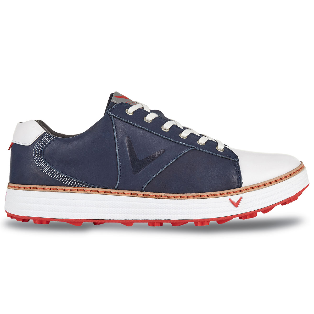 Callaway-Golf-2017-Mens-Del-Mar-Retro-Golf-Shoes-Waterproof-Engery-Return