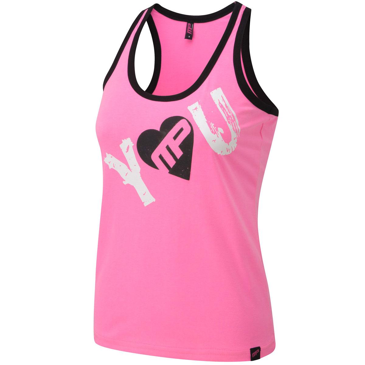 MusclePharm-Para-Mujer-Camiseta-sin-mangas-chaleco-impreso-Gimnasio-Camiseta-De-Entrenamiento-De