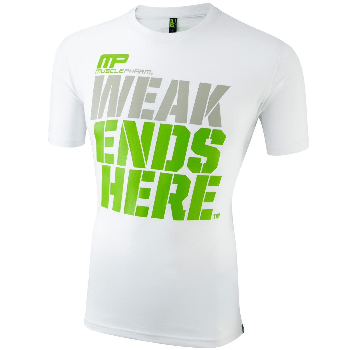 MusclePharm-Mangas-Cortas-Estampada-Camiseta-Camiseta-De-Entrenamiento-Gimnasio-De-Algodon-25-De