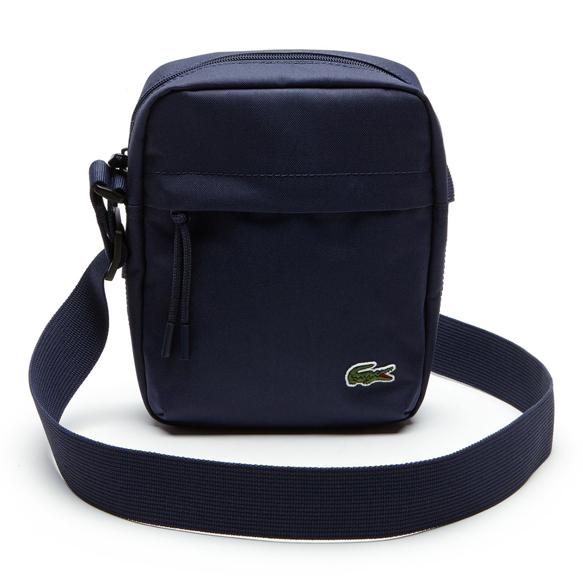 b56a147ea Details about Lacoste Mens 2019 Neocroc Canvas Vertical All Purpose Bag -  Peacoat