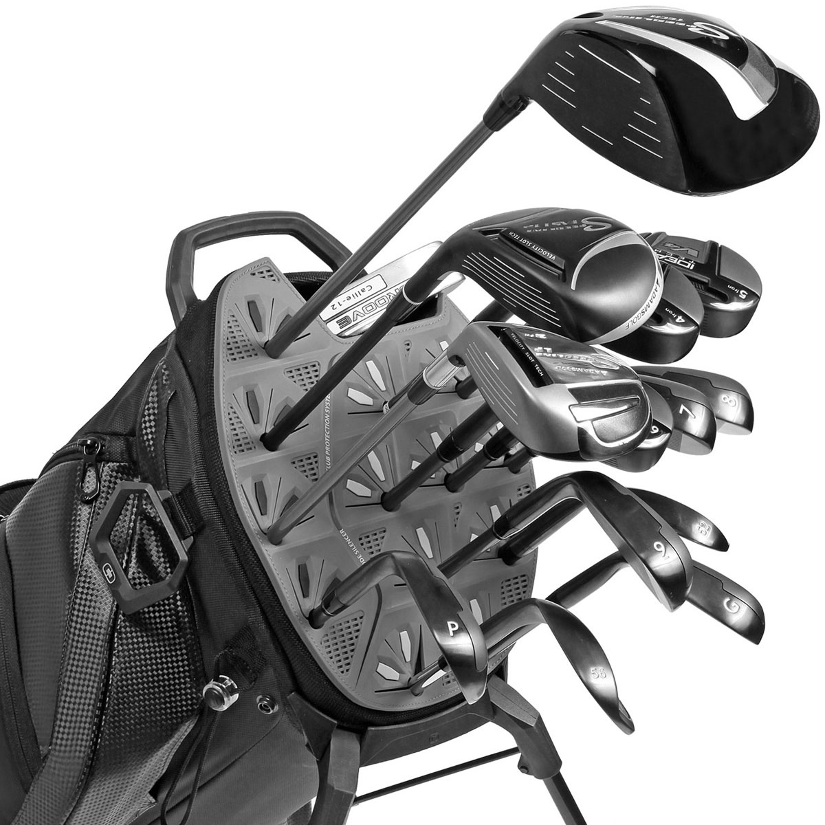 Ogio 2016 Silencer Stand Carry Golf Bag 14 Way Divider