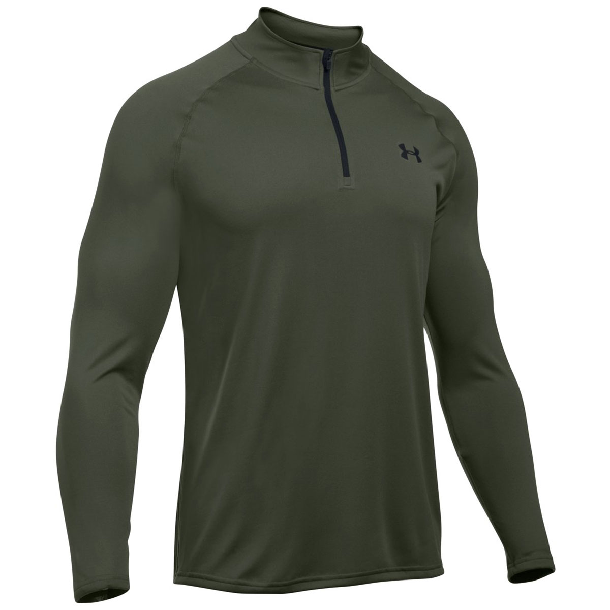 under armour mens ua tech 1 4 zip long sleeve top gym