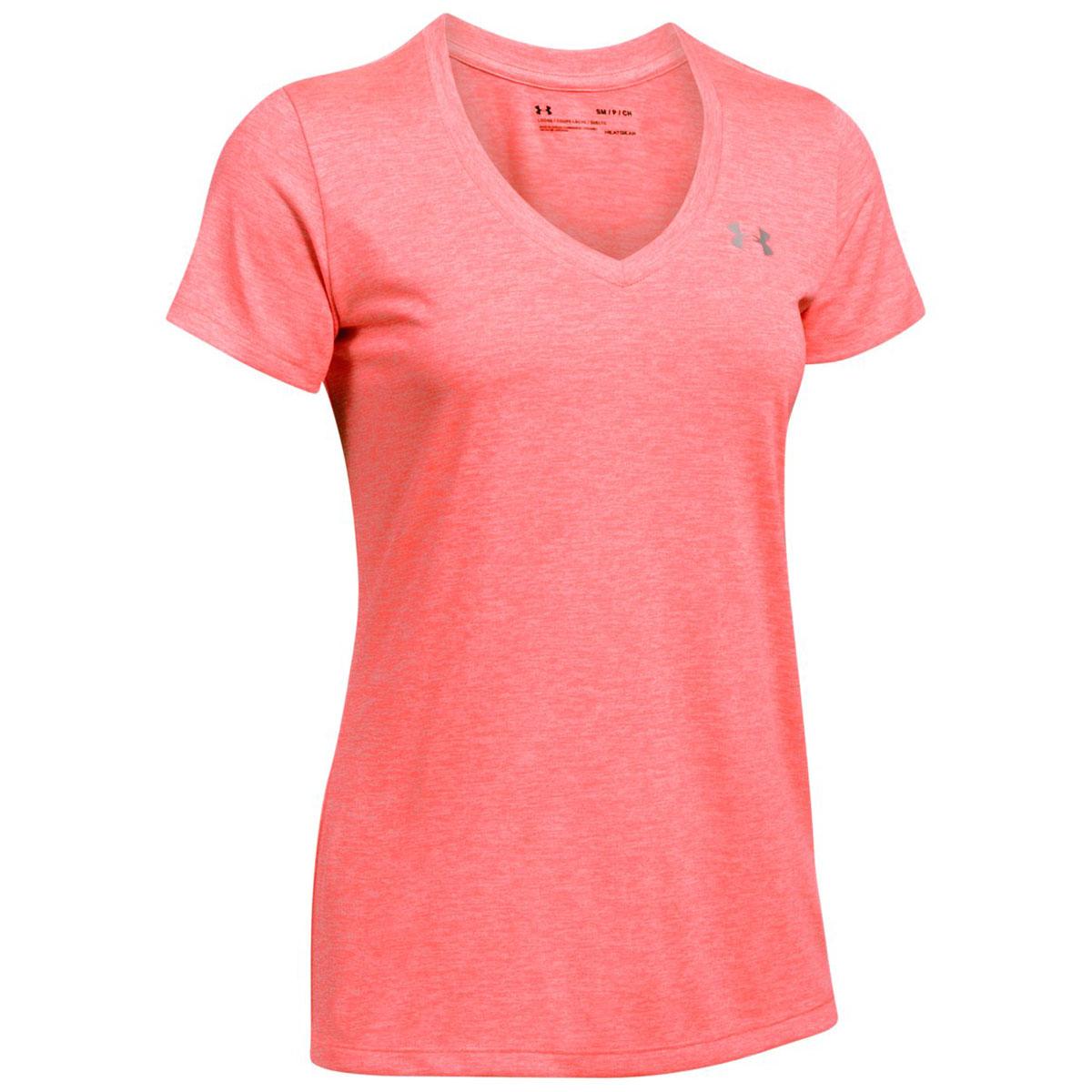 Under-Armour-Womens-2018-UA-Twist-Tech-V-Neck-T-Shirt-Short-Sleeve-Gym-Sport-Tee