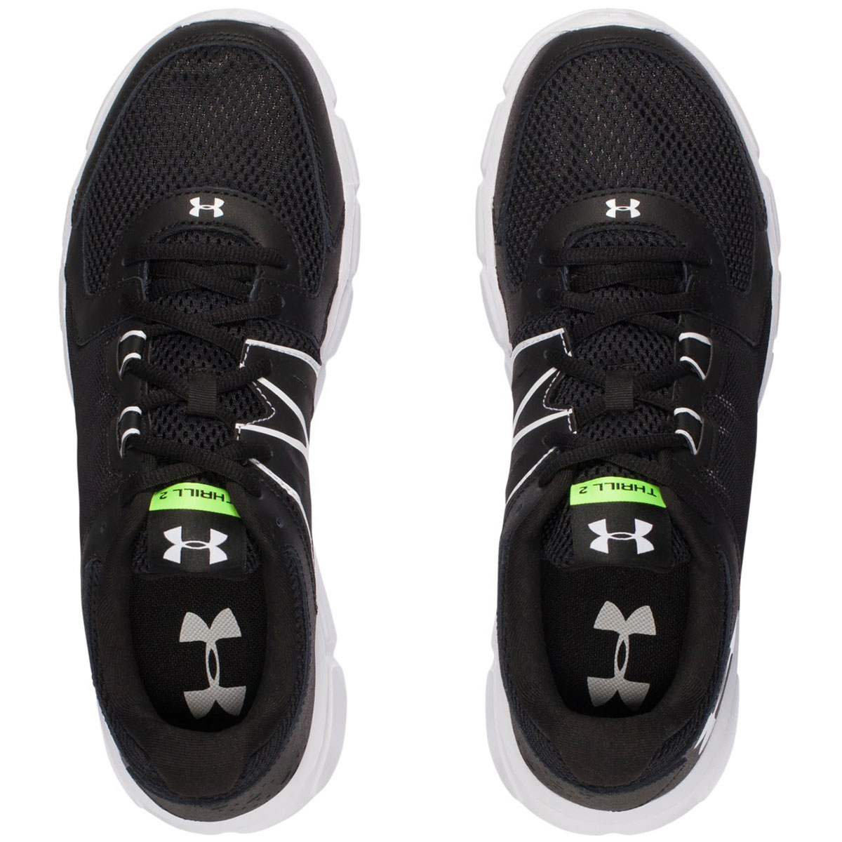 579b1bb87c3a Under Armour Mens UA Thrill 2 Running Trainers Gym Training Shoes 54 ...